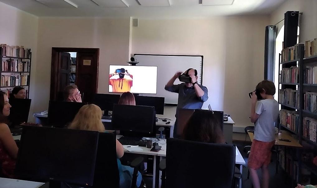 Bibliotekarze w wirtualnej rzeczywistości