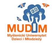logotyp Myślenickiego Uniwersytetu Dzieci i Mlodzieży